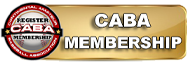 CABA GOLD BAR BUTTON - CABA MEMBERSHIP - SMALL