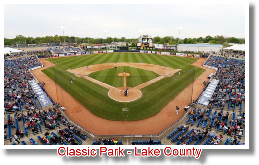 Classic Park - Lake County - Home of the Captains
